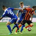 «Шахтер» сыграл вничью с киевским «Динамо»