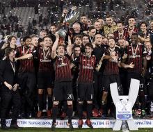 «Милан» победил «Ювентус» и завоевал Суперкубок Италии